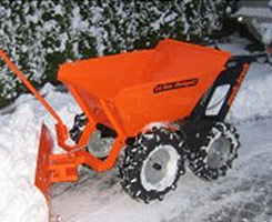 Muck Truck Snow Plough image